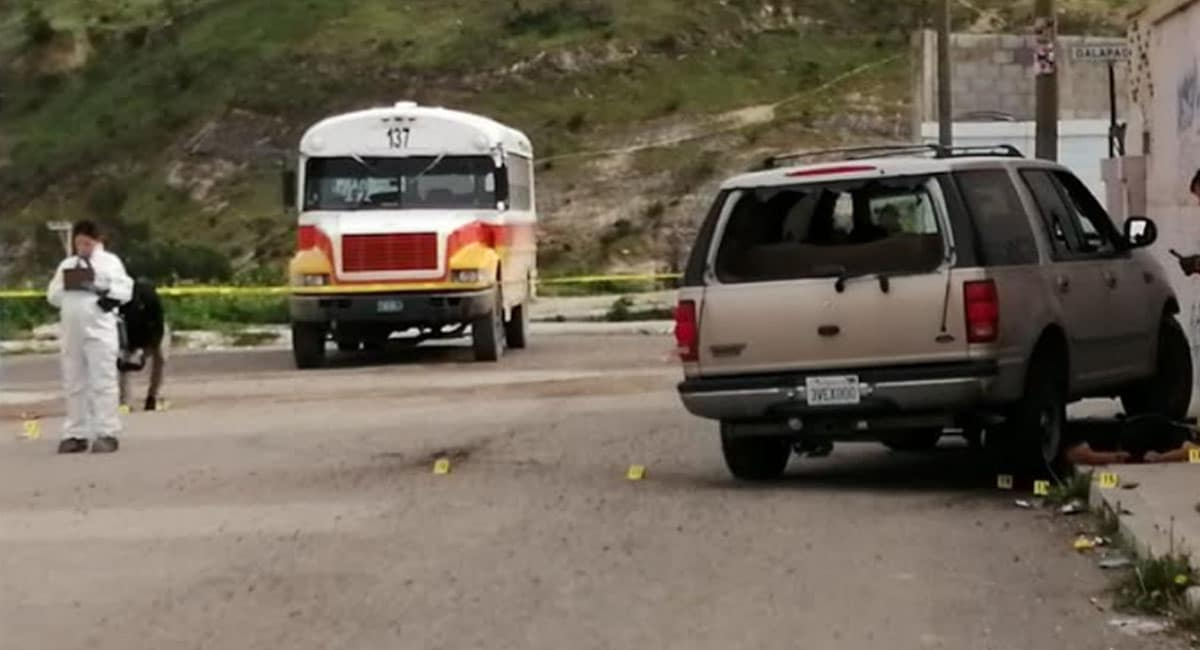 Rafaguean a dos hombres en Tijuana