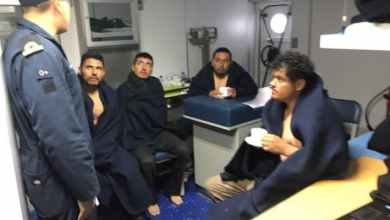 Photo of VIDEO: Así rescató la Marina a cinco pescadores en BC
