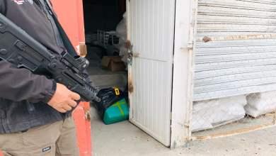 Photo of Hallan 'narcotúnel' tras cateo en bodega,  aseguran cargamento de droga