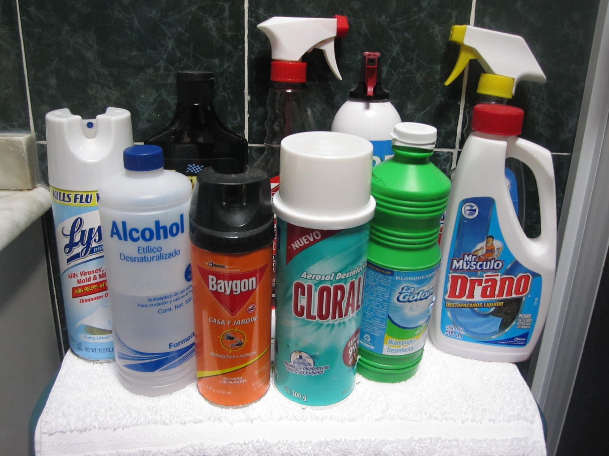 Cetys advierte sobre mezclas de productos de limpieza con reacción peligrosa