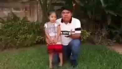 Photo of Defiende a AMLO el padre de la niña que besó