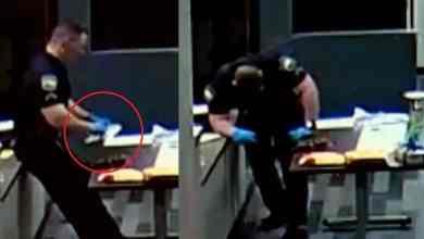 Photo of Policía se desploma a tocar droga callejera