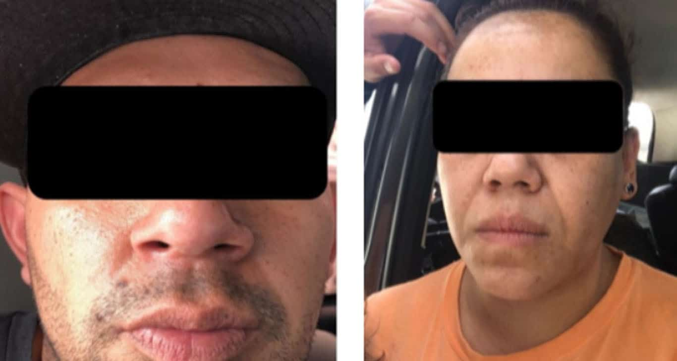 Polleros detenidos en Tijuana