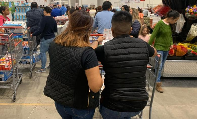 Compras de pánico brincan de San Diego a Tijuana