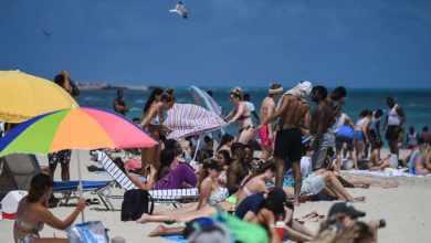 Photo of Alerta en Miami tras incremento de contagios por Covid-19; cierran playas