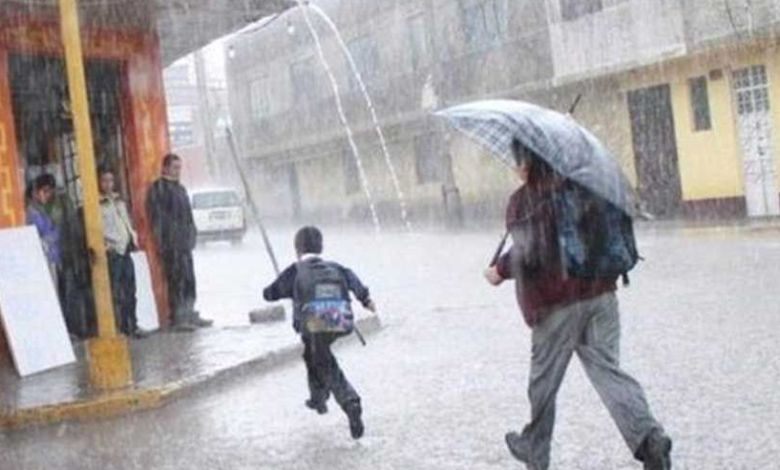 suspenden clases por lluvias