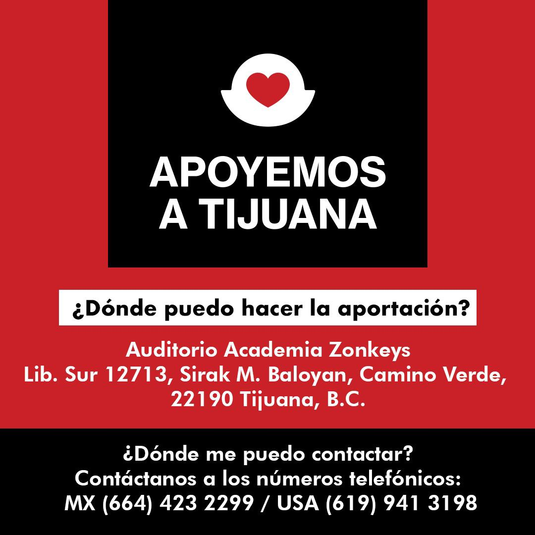 #ApoyemosTijuana ante la contingencia de coronavirus