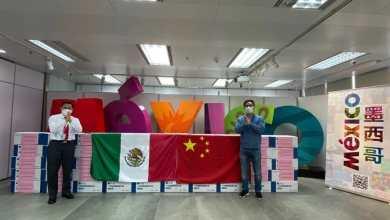 Photo of China dona miles de cubrebocas a Tijuana