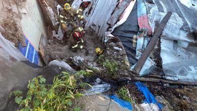 Photo of Techo de vivienda cae sobre tres menores de edad