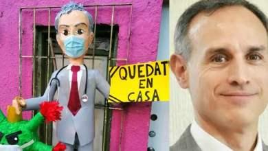 Photo of Sacan piñata de López-Gatell