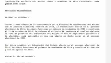 Photo of Morena va por gubernatura de tres años en 2021