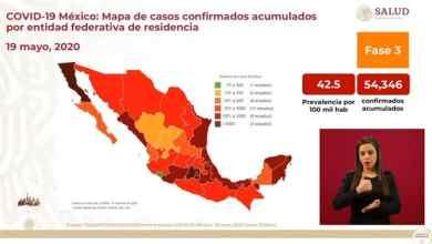 Photo of Fallecen más de 300 por Covid-19 en 24 horas en la República Mexicana