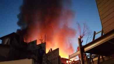 Photo of VIDEO: Incendio consume casa en Tijuana