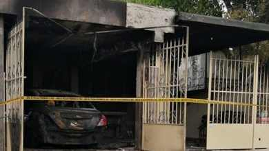 Photo of VIDEO: Incendian casa y auto de enfermera