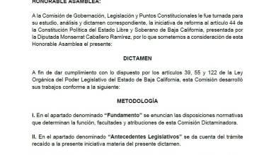 Photo of Listo, el dictamen de la gubernatura de 3 años