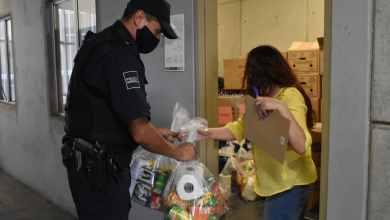 Photo of SSPCM entrega despensas a  familias de oficiales caídos