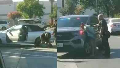 Photo of VIDEO: Policías dan golpes brutales a mujer frente a sus hijos