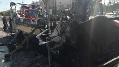 Photo of Se quema lonchera de hamburguesas; hay dos heridos