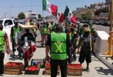 Photo of Ángeles sin fronteras se manifiestan a tomatazos en caseta de Playas