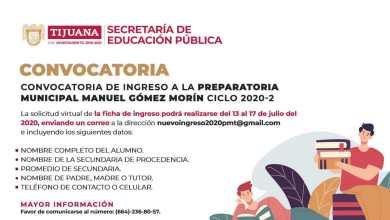 Photo of Municipio emite convocatoria de nuevo ingreso a preparatoria municipal