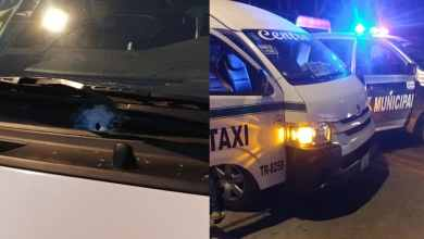 Taxista-herido-tras-fuego-cruzado-entre-cárteles-en-Tijuana