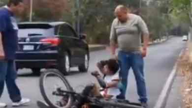 VIDEO-Empleados-del-gobierno-golpean-y-amenazan-a-joven-ciclista