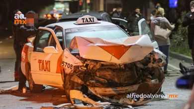 Taxi-no-respeta-distancia-y-choca-seis-autos