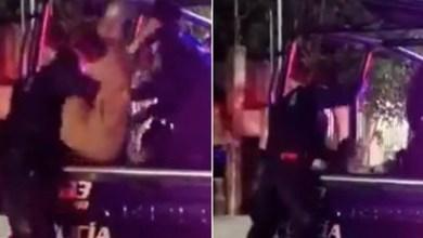 VIDEO-Policía-golpea-a-detenido-en-patrulla