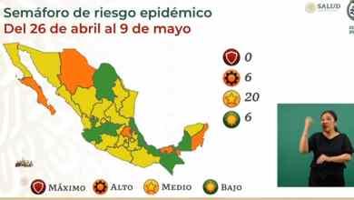 México-reduce-a-6-los-estados-en-verde-en-Semáforo-Epidemiológico