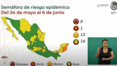 México-suma-16-estados-en-verde-en-Semáforo-Epidemiológico