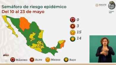 México-suma-14-estados-en-verde-en-Semáforo-Epidemiológico