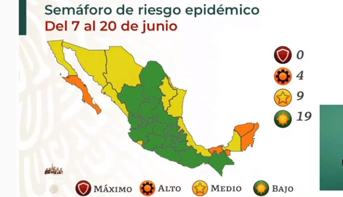 México-suma-19-estados-en-verde-en-Semáforo-Epidemiológico