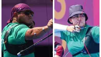 Luis Álvarez y Alejandra Valencia medalla de bronce en Tiro con Arco en Tokyo 2020