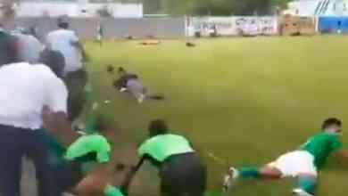VIDEO-Balacera-en-pleno-partido-de-futbol-hay-3 muertos