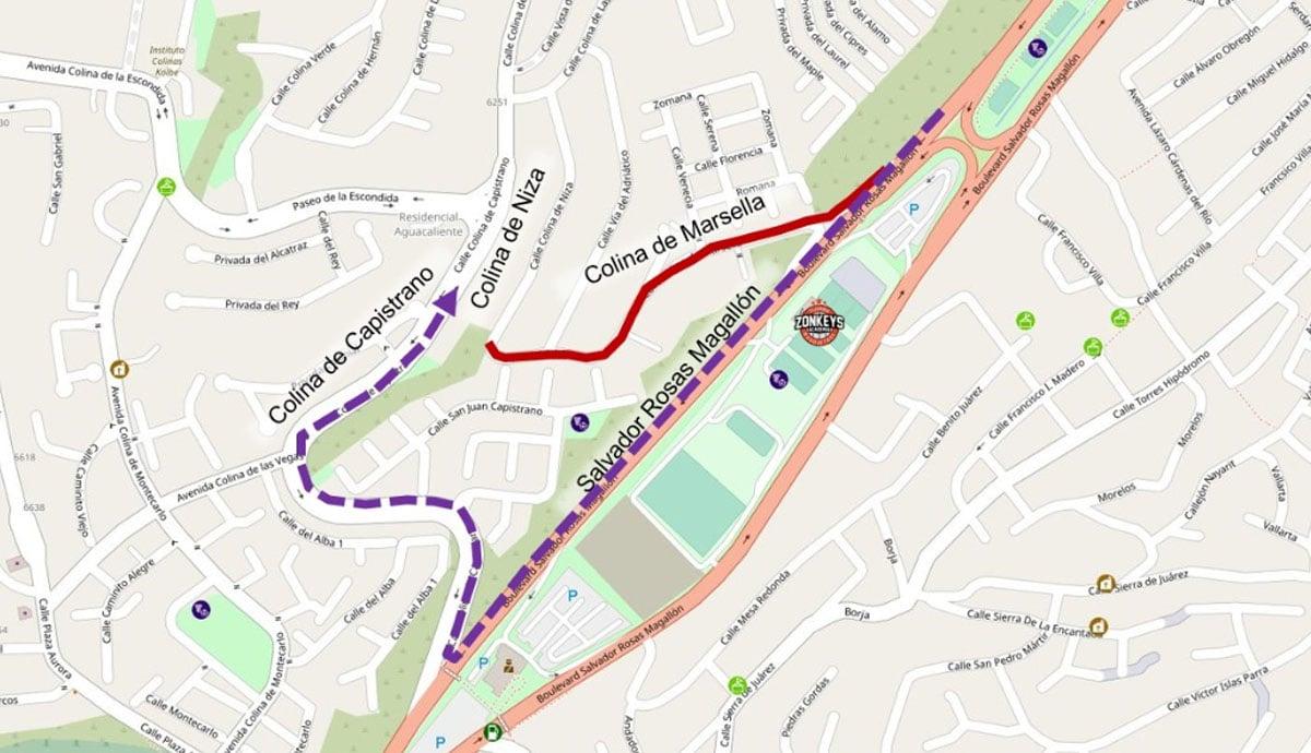 Cierran-por-semanas-calle-Colina-de-Marsella-en-Sánchez-Taboada