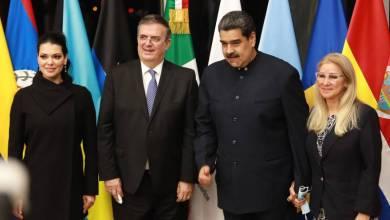 Maduro visita México CELAC Ebrard