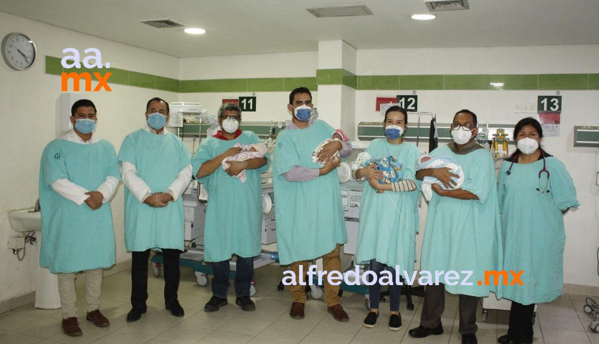 Nacen-cuatrillizos-en-IMSS-Sonora-con-salud-óptima