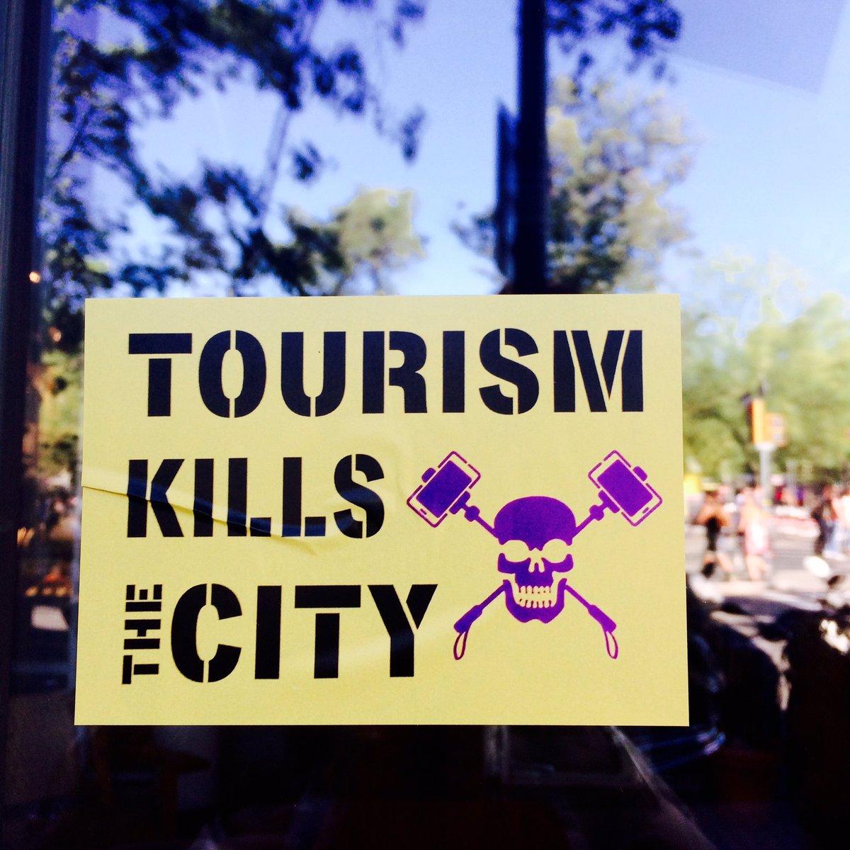 De la gentrificación a la turismofobia.