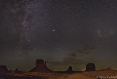 Sky in Monument Valley