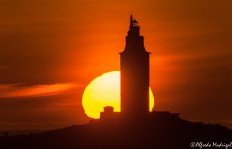 Sunset Hercules Tower