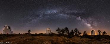Telescopes in Calar Alto