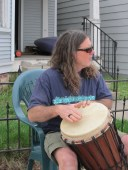 Al Pityo, percussionist extraordinaire & vocals