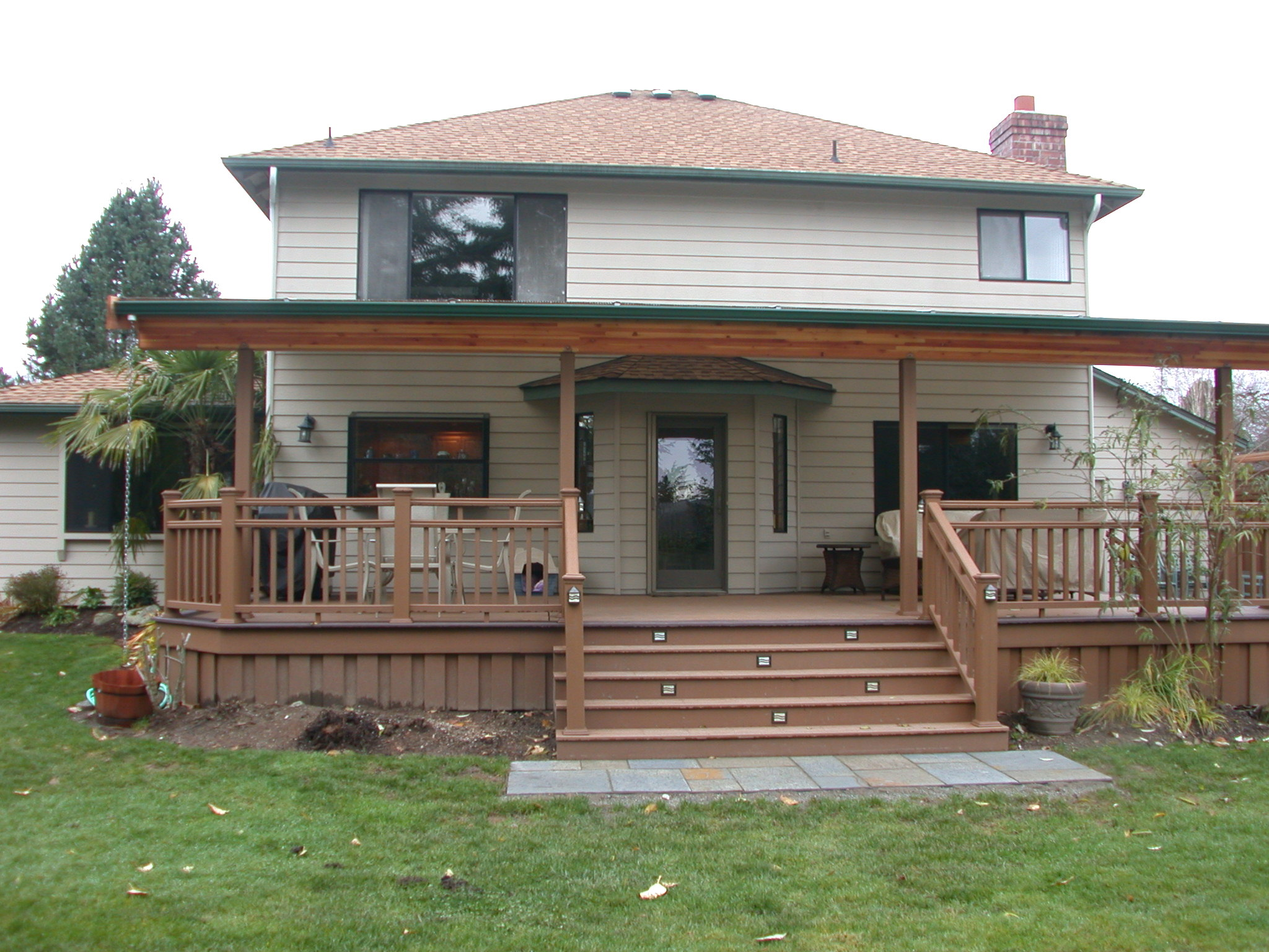 patio cover roof design ideas