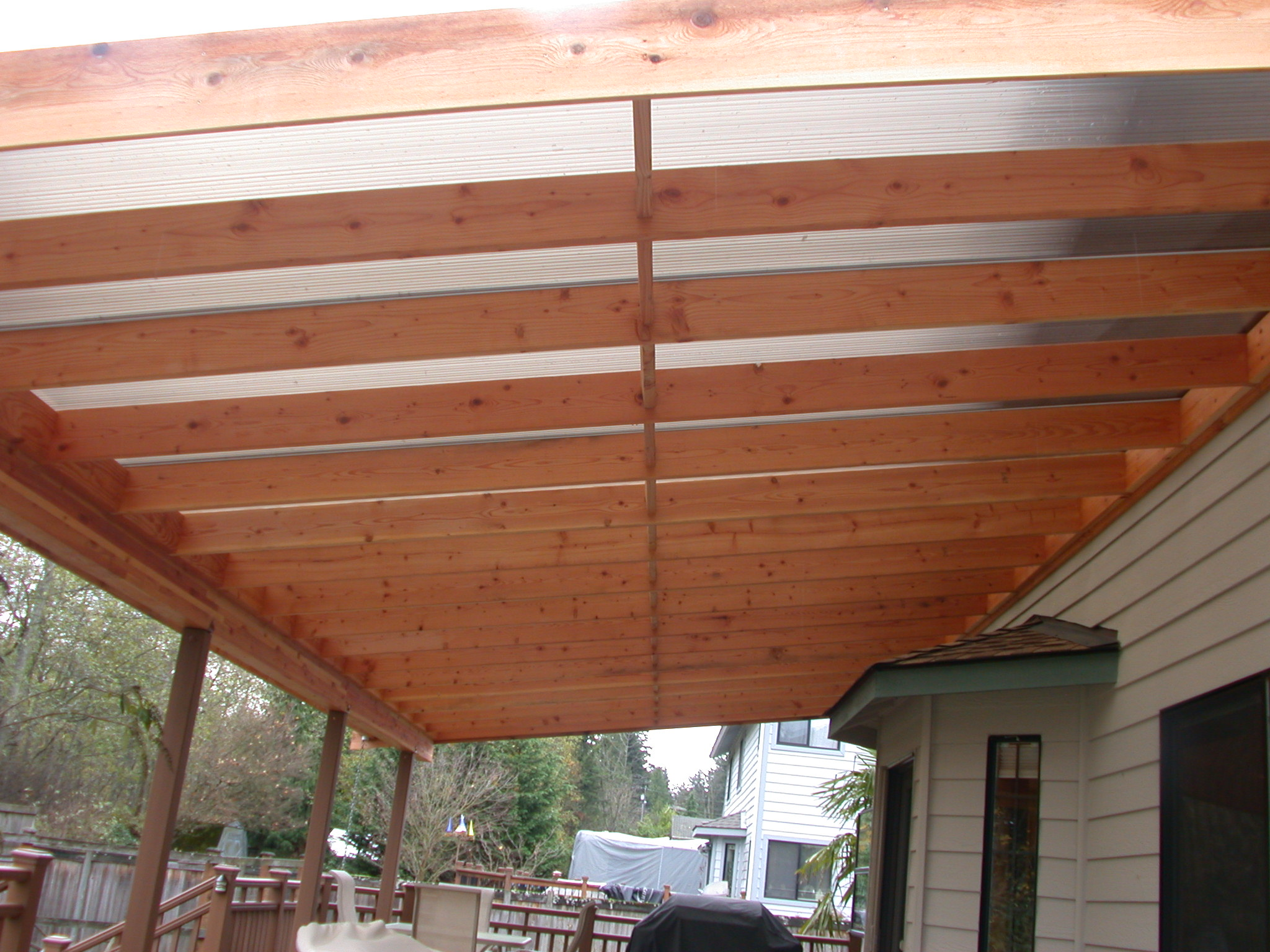 patio roof ideas on Pinterest   Patio Roof, 8 Seconds and ... on Roof For Patio Ideas id=80832