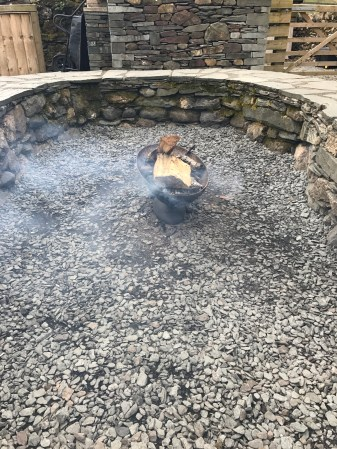 Lovely fire pit