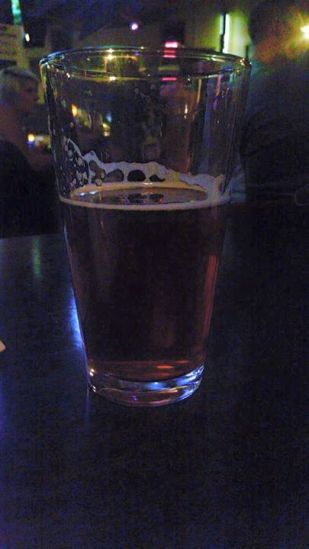 After-party @ A&A :) (in the glass: Under the Rose Roggenbier)