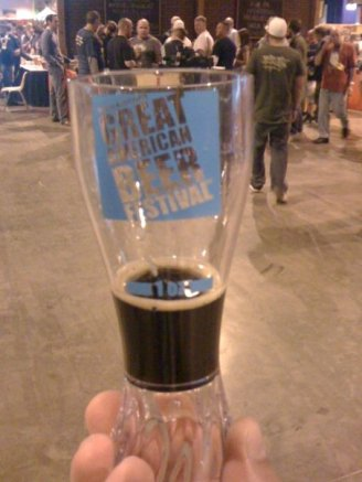 Elsie's Irish Cream Coffee Stout, from Papago in Scottsdale, AZ...one of thousands of beers on tap (and a pretty good one at that)
