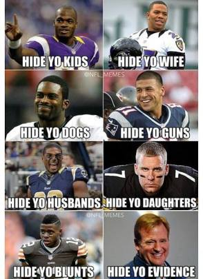 I'm not even a football fan, but this is still funny...if a bit disturbing.
