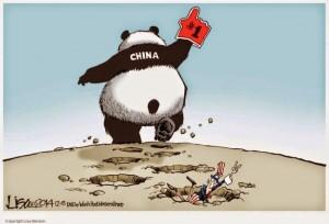 Cartoon - China Number One Economy