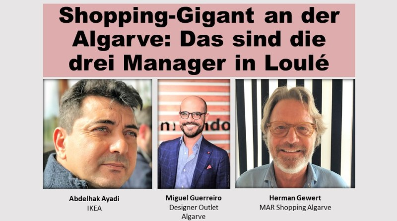 Shopping-Gigant an der Algarve: Gerwerbekomplex in Loule